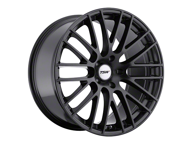 TSW Max Matte Black Wheel; Rear Only; 19x9.5 (05-09 All)