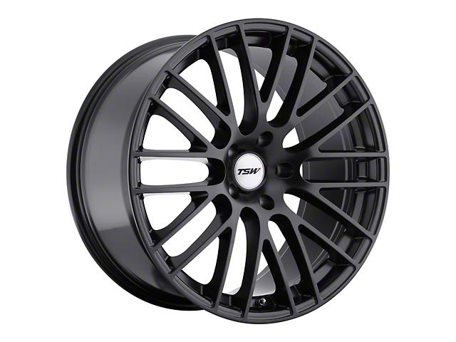 TSW Max Matte Black Wheel; 19x9 (05-09 All)