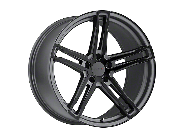TSW Mechanica Matte Gunmetal with Matte Black Face Wheel; 19x8.5 (15-20 GT, EcoBoost, V6)