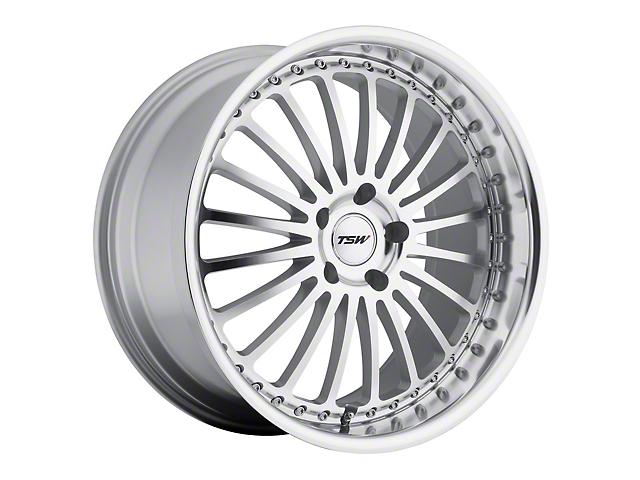 TSW Silverstone Silver Wheel; 20x8.5 (15-20 GT, EcoBoost, V6)