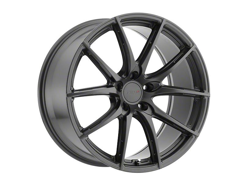 TSW Sprint Gloss Gunmetal Wheel; Rear Only; 20x10 (05-09 All)