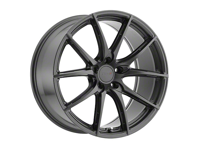TSW Sprint Gloss Gunmetal Wheel; Rear Only; 20x10 (15-21 GT, EcoBoost, V6)