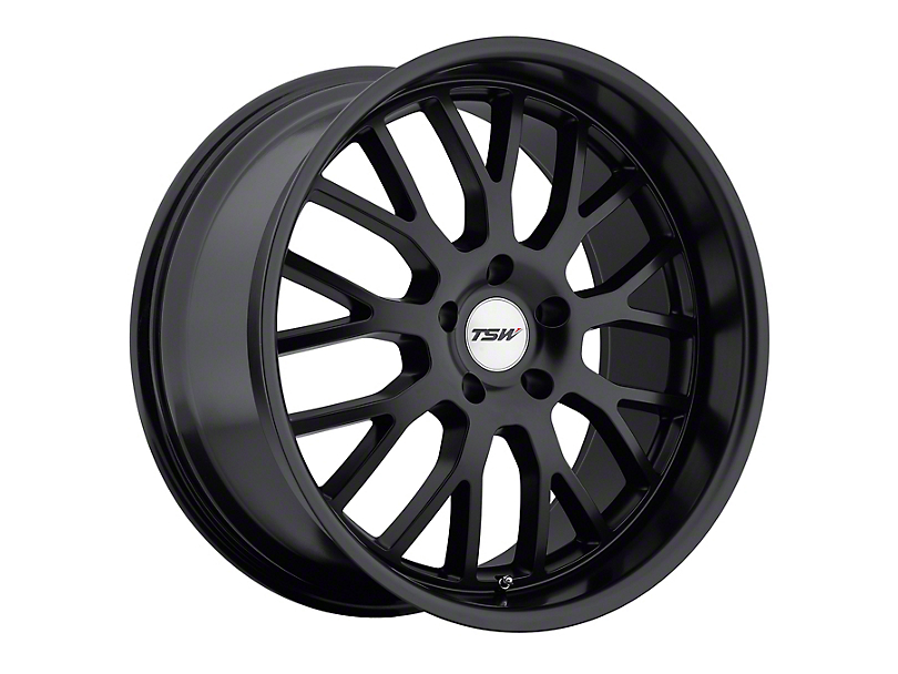 TSW Tremblant Matte Black Wheel - 20x10 - Rear Only (05-09 All)