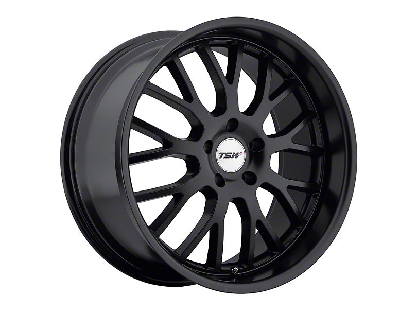 TSW Tremblant Matte Black Wheel - 20x10 - Rear Only (05-14 All)