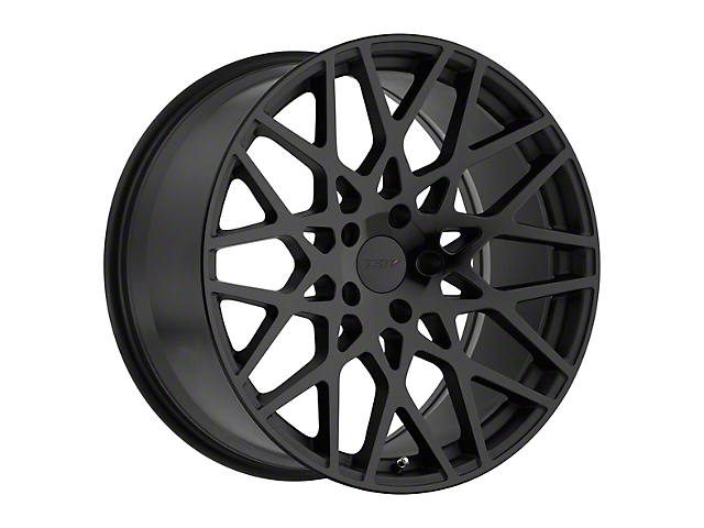 TSW Vale Double Black Wheel; 19x9.5 (15-20 GT, EcoBoost, V6)