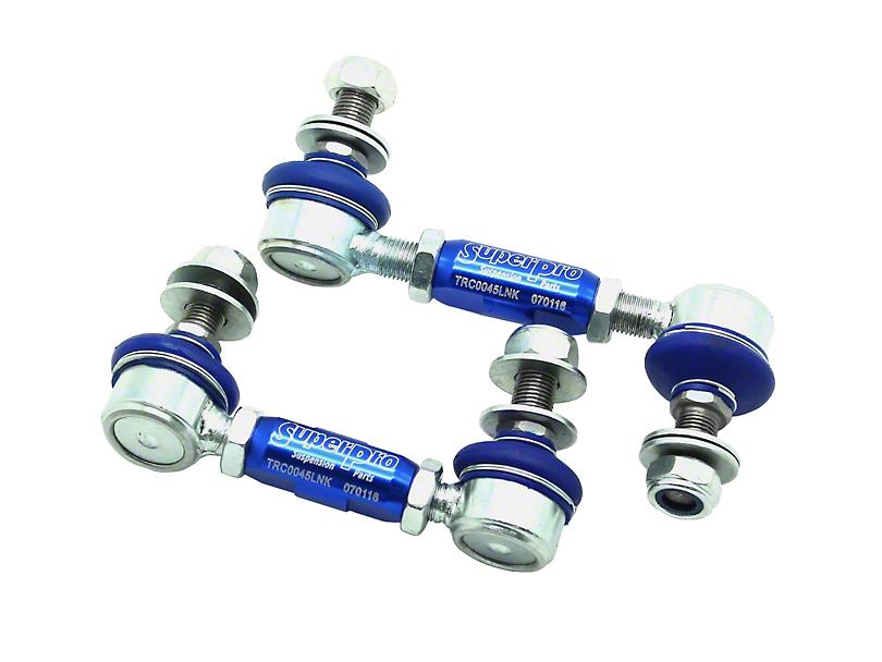 SuperPro Suspension Adjustable Rear Sway Bar End Links (15-20 All)