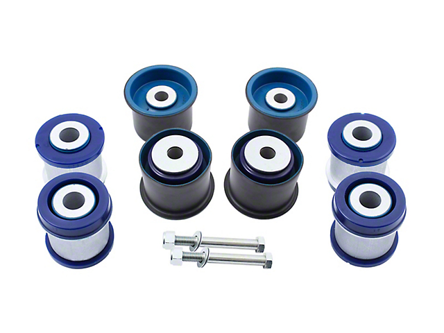 SuperPro Suspension Rear Subframe and Differential Bushing Kit (15-21 All)