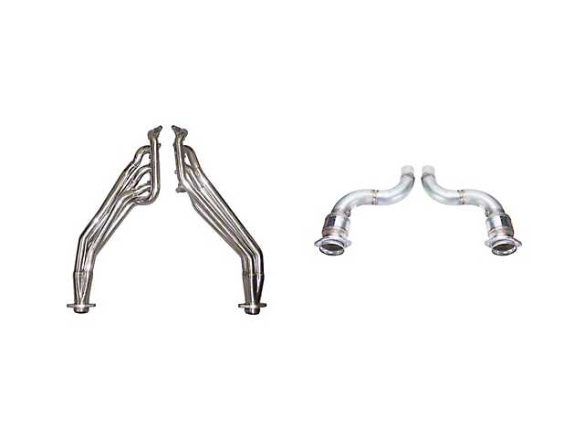 Pypes 1-7/8-Inch Long Tube Headers; Catted (18-20 GT)