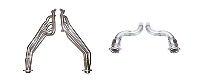 Pypes 1-7/8 in. Long Tube Catted Headers (18-19 GT)