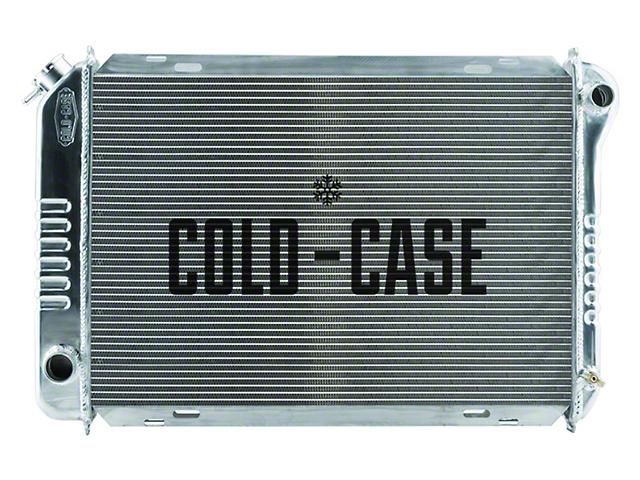 Cold Case Aluminum Performance Radiator; 1.25-Inch Tubes (87-93 5.0L w/ Manual Transmission)