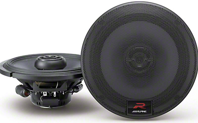 Alpine R-Series 6-1/2 in. Coaxial 2-Way Speakers - 100W (15-19 All)