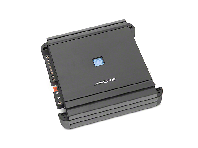 Alpine 4-Channel V-Power Digital Amplifier; 50W x 4 (Universal Fitment)