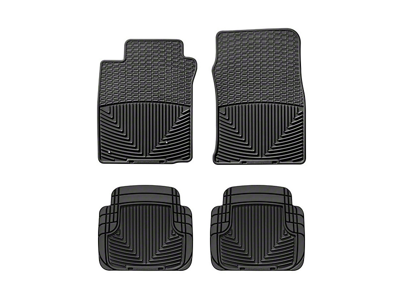 Weathertech All Weather Front & Rear Rubber Floor Mats - Black (05-09 All)