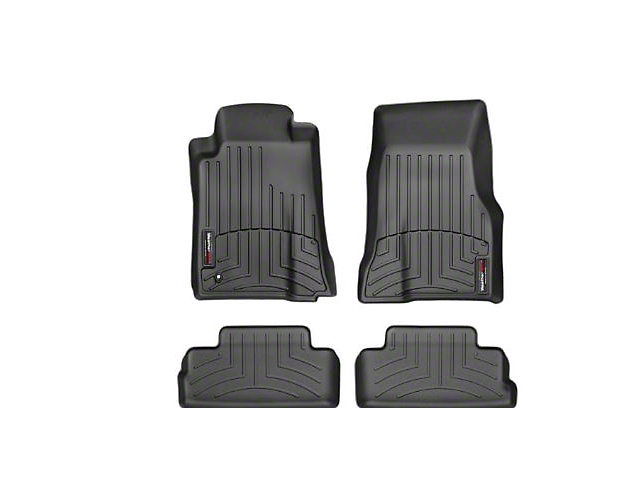 Weathertech DigitalFit Front and Rear Floor Liners; Black (2010 All)