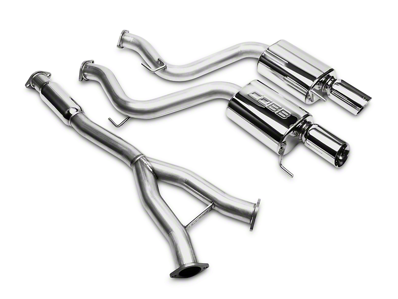 Cobb 3 in. Cat-Back Exhaust (15-20 EcoBoost Fastback w/o Active Exhaust)