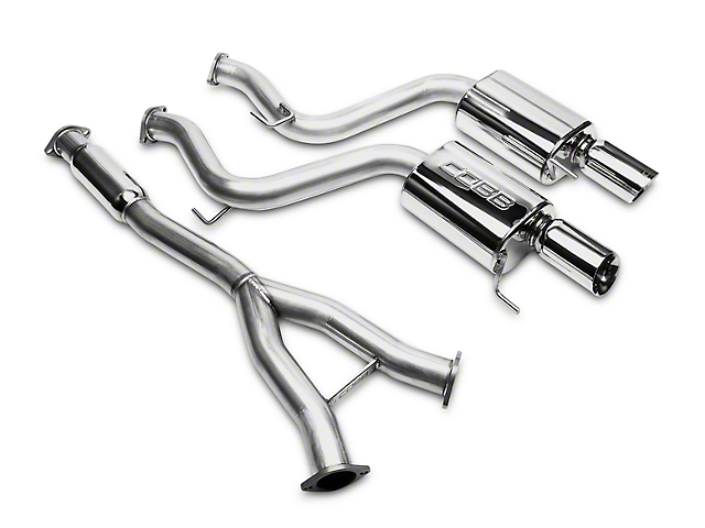 Cobb 3 in. Cat-Back Exhaust (15-19 EcoBoost Fastback w/o Active Exhaust)