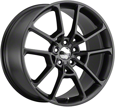 Advanti Fury Matte Black Wheel - 19x9 (05-14 All)
