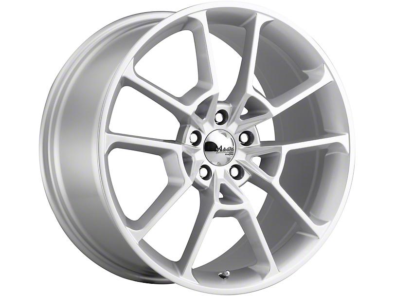 Advanti Fury Flash Silver Wheel; Rear Only; 19x10 (15-20 GT, EcoBoost, V6)