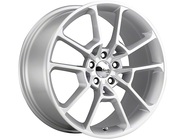 Advanti Fury Flash Silver Wheel; Rear Only; 20x10 (15-20 GT, EcoBoost, V6)