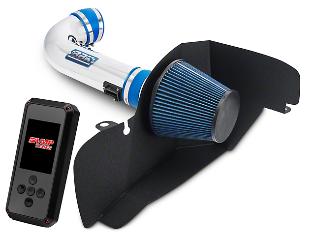 BBK Chrome Cold Air Intake & VMP Rev-X Tuner (15-17 GT Stock or w/ Bolt-On Mods)