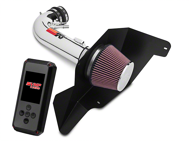 K&N Series 69 Typhoon Cold Air Intake & VMP Rev-X Tuner (15-17 GT Stock or w/ Bolt-On Mods)