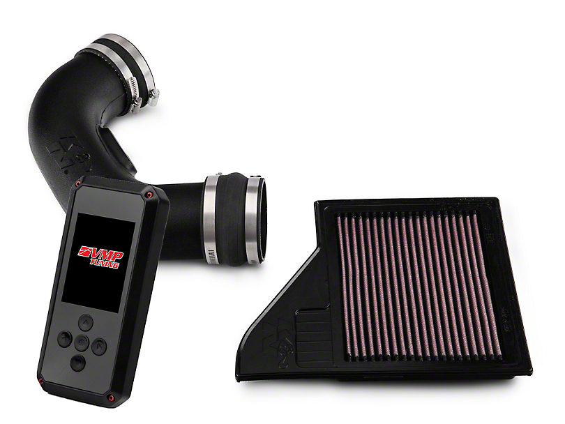 K&N Series 57 FIPK Modular Intake and VMP Rev-X Tuner (11-14 GT Stock or w/ Bolt-On Mods)
