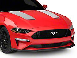 American Muscle Graphics Hood Stripes - Silver (18-20 GT, EcoBoost)
