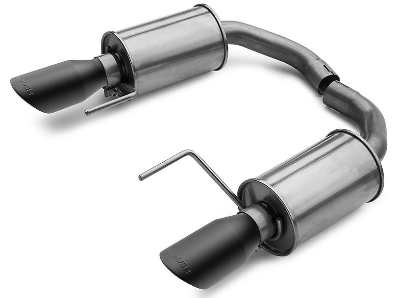 Roush Axle-Back Exhaust w/ Black Tips (15-17 V6)