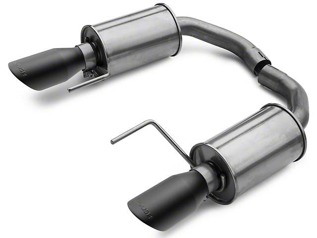 Roush Axle-Back Exhaust with Black Tips (15-17 V6)