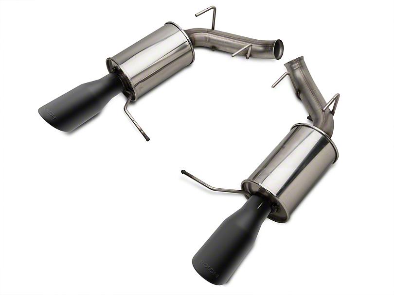 Roush Axle-Back Exhaust w/ Black Tips (11-14 V6)