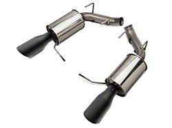 Roush Axle-Back Exhaust with Black Tips (11-14 V6)
