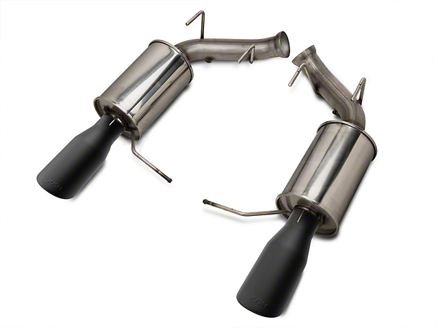 Roush Axle-Back Exhaust with Black Tips (11-14 GT; 11-12 GT500)