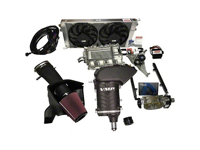 VMP GEN II-R 2.3L TVS Supercharger Kit - Stage 2 (15-17 GT)