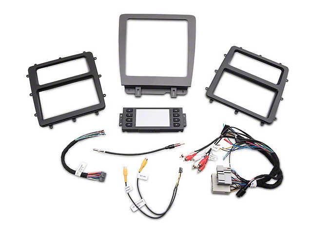 mustang car stereo installation kit  10