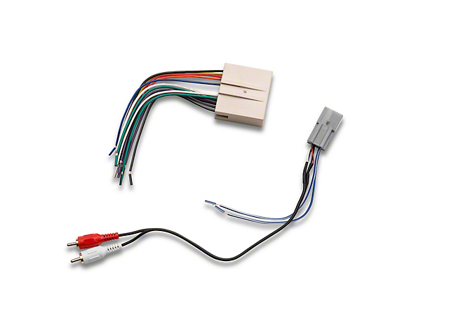 mustang stereo wiring harness (05 early 08 all)