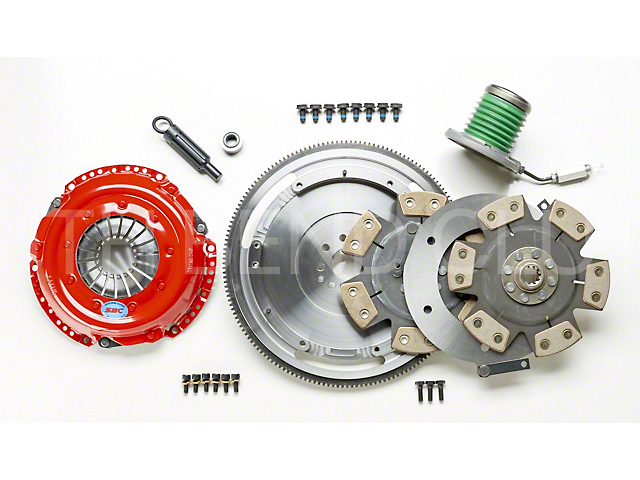 South Bend Clutch Stage 5 Extreme Competition Dual Disc Clutch Kit (11-17 GT)