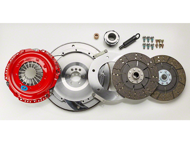 South Bend Clutch Stage 3 Street Dual Disc Clutch Kit - 26 Spline (05-10 GT)