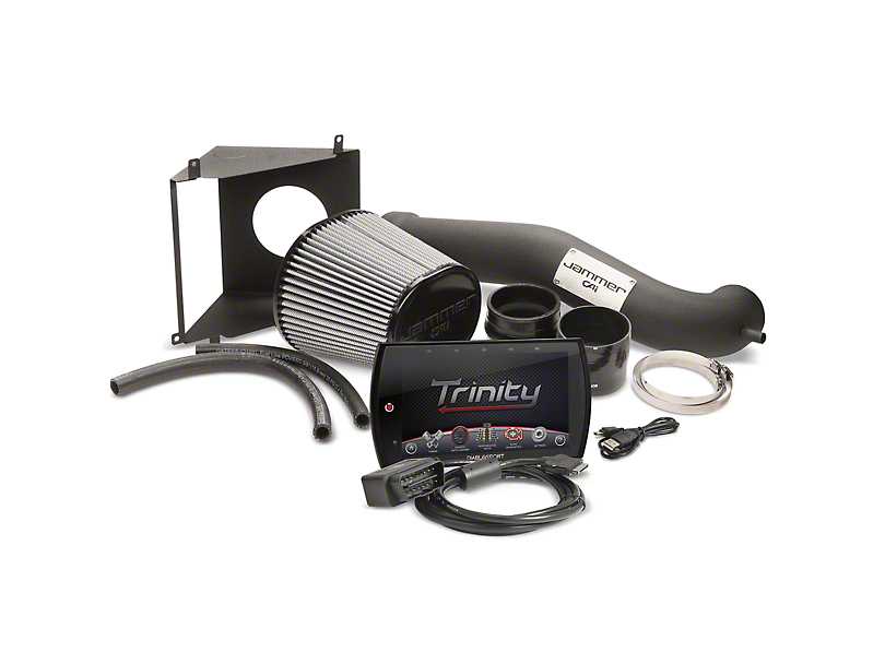 Diablosport Reaper Jammer Cold Air Intake and Trinity 2 Tuner Combo Kit; Stage 1 (11-14 GT)