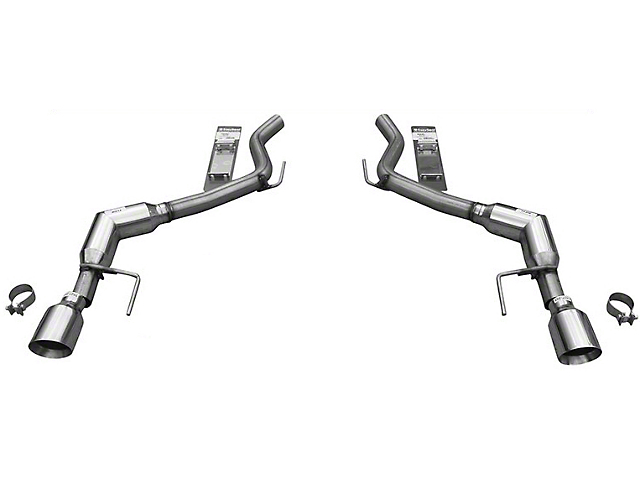 Solo Performance Axle-Back Exhaust (15-19 EcoBoost Fastback w/o Active Exhaust)