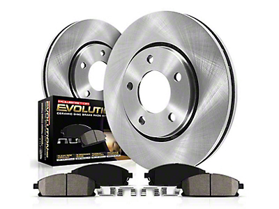 Power Stop OE Replacement Brake Rotor & Pad Kit - Front & Rear (99-04 GT, V6)