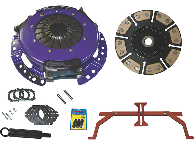 ACE Racing Street King Ceramic Clutch Kit; 23 Spline (11-17 GT)