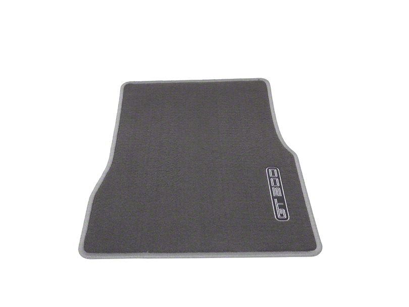 Ford Performance Front Floor Mats w/ GT500 Logo - Gray (2010 All)