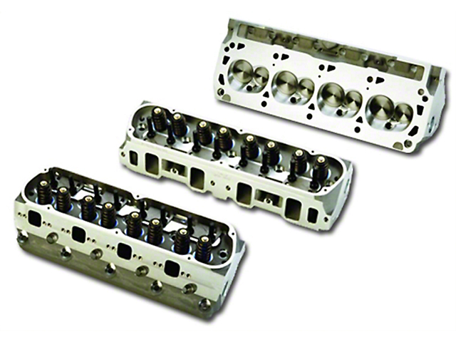 Ford Performance 302/351W Z-Head Assembled Aluminum Cylinder Head; 63cc