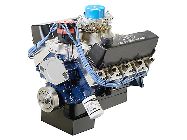 Ford Performance 572 Cubic Inch 655 HP Big Block Street Crate Engine with Front Sump Oil Pan