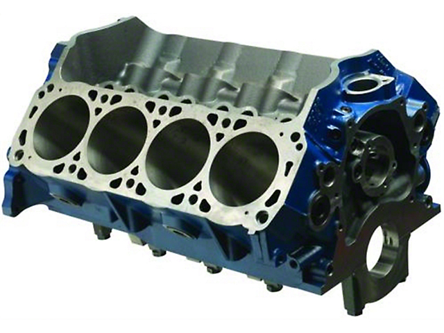 Ford Performance BOSS 351 Big Bore Engine Block; 9.2-Inch Deck