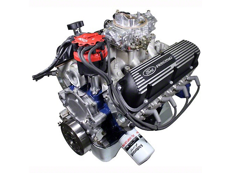 Ford Performance X2347D Street Cruiser Crate Engine with Rear Sump Oil Pan