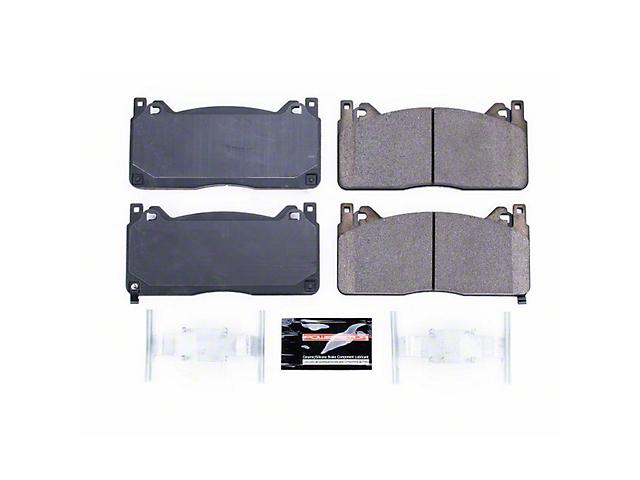 Power Stop Z23 Evolution Sport Carbon-Fiber Ceramic Brake Pads; Front Pair (15-20 GT350)