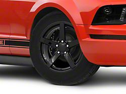 Rovos Durban Drag Gloss Black Wheel; Front Only; 17x4.5 (05-09 All)