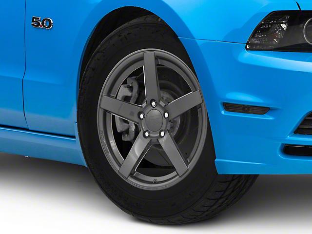 Rovos Durban Drag Gunmetal Wheel; Front Only; 17x4.5 (10-14 All)