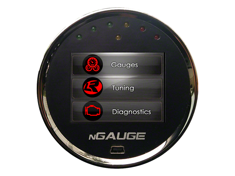Lund Racing nGauge w/ 1 Custom Tune (11-14 GT; 12-13 BOSS 302)